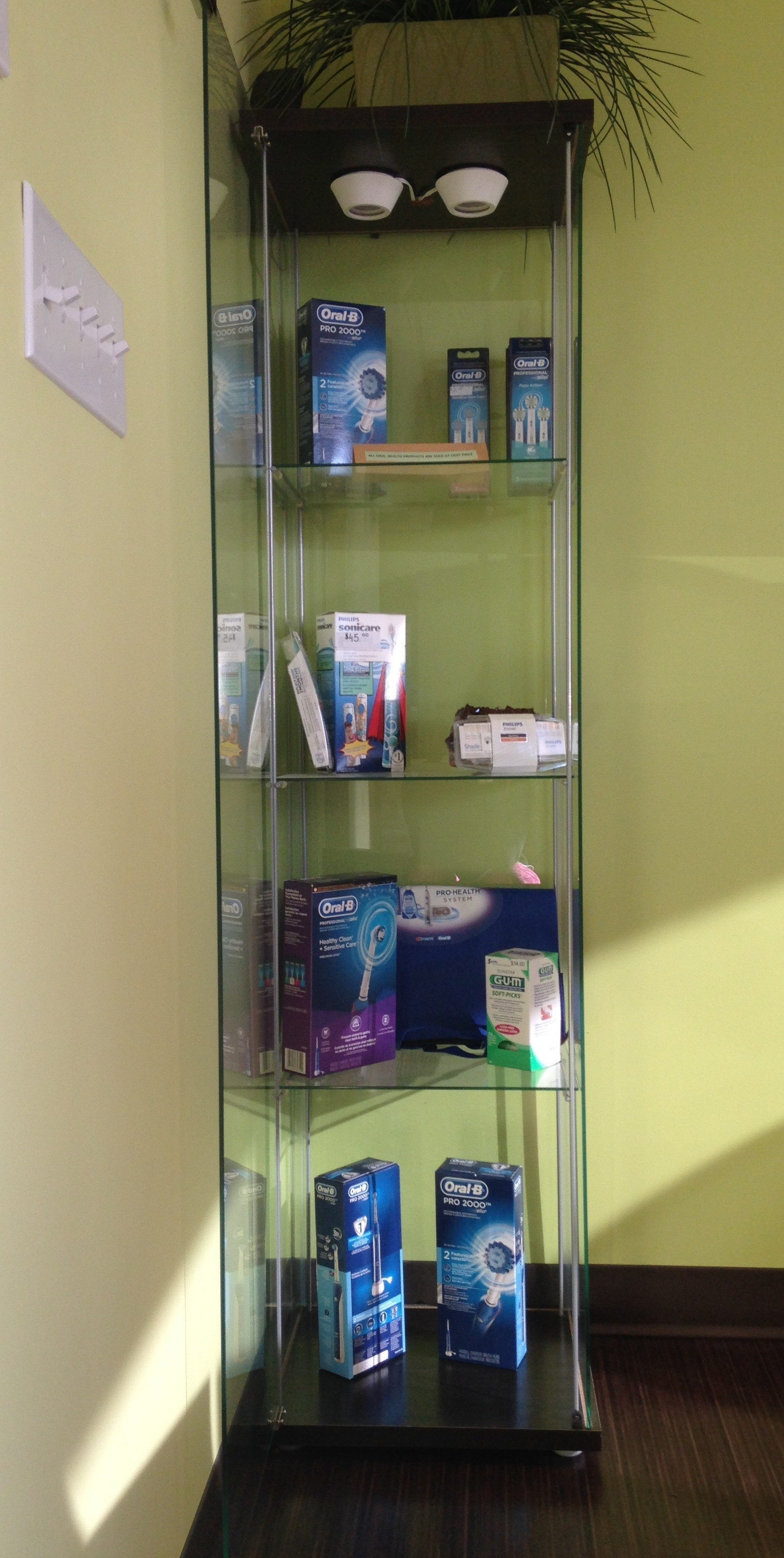 Oral Health products sold at cost